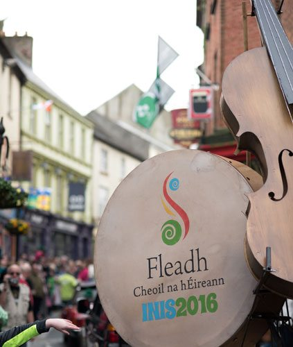 Lantel provides PBX and SIP Services to Fleadh Cheoil 2016 & 2017